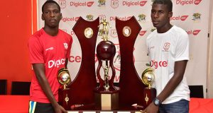 Who will take the 2016 edition of the Digicel National Schools Football Championship? Will it be Jeremy Garrett (right) and his Chase team or will Kishan Dey and the Christianburg/Wismar counterparts make it five straight titles? (Adrian Narine photo)