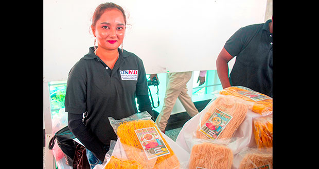 Corentyne girl revives family's chowmein manufacturing business