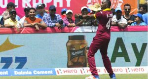 India fell two runs short of reaching a target of 246, Dwayne Bravo denying them victory in an engrossing T20 clash in Florida