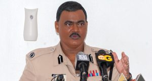 Acting Police Commissioner David Ramnarine