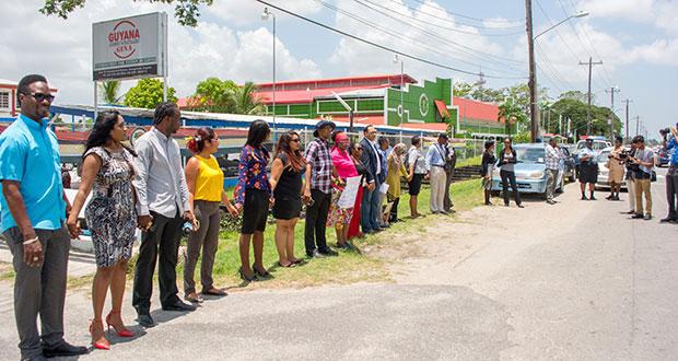 GPA, activists roast NCN - Guyana Chronicle