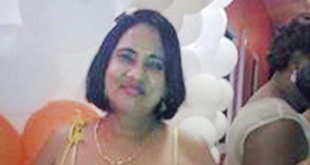 Injured businesswoman, Gomattie Ramrattan