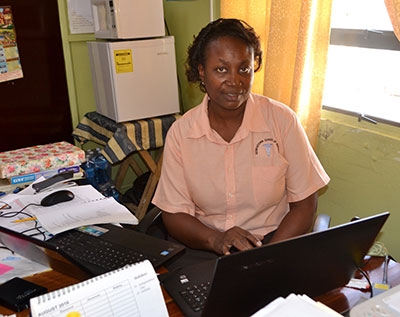 Georgetown School of Nursing Principal Cleopatra Barkoye