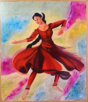 Rang nritya (colour dance)