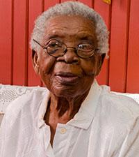 Granny Nen celebrated her 102nd birthday Saturday. (Delano Williams photo)