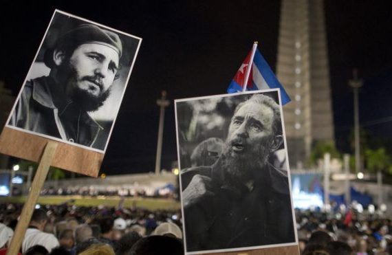 Cuba holds huge rally for Fidel Castro