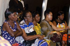 A section of the gathering at the launch