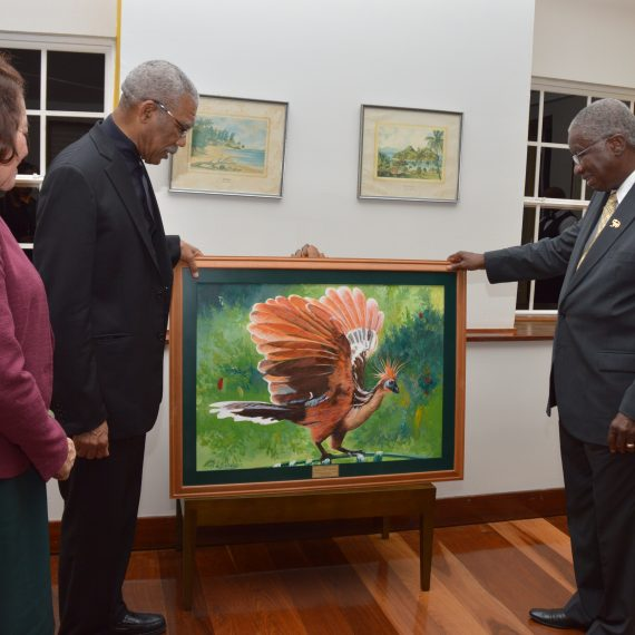 Heads of State laud Guyana/Barbados 50-year-old friendship
