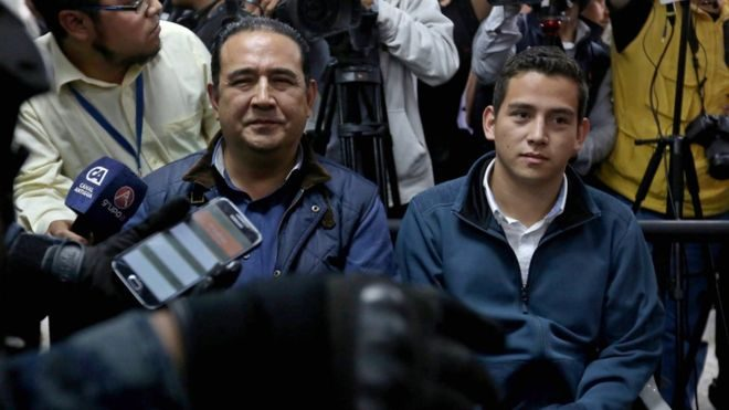 Guatemalan president's brother and son accused of fraud