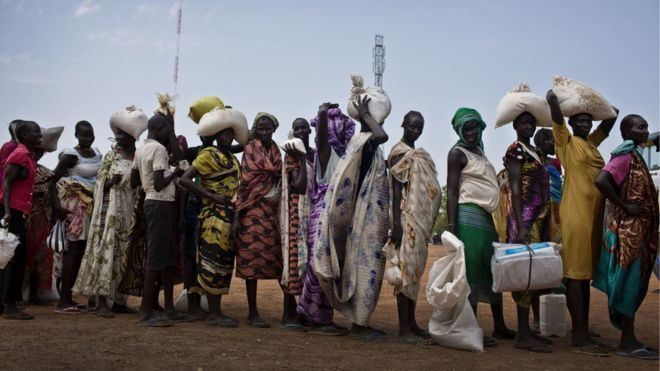 South Sudan declares famine in Unity State