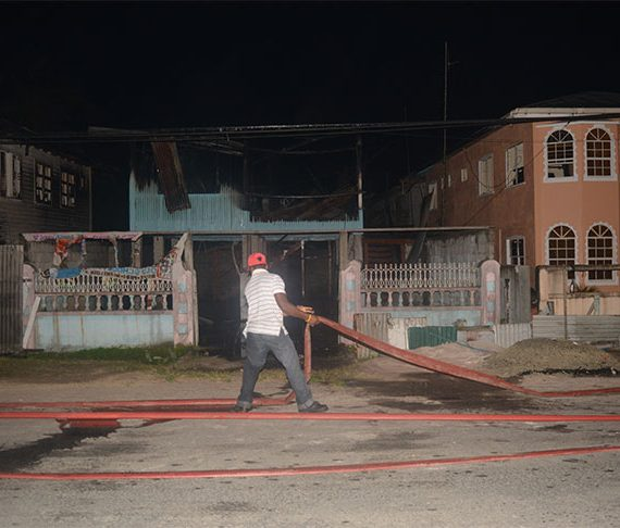 Fire guts DJ's house, arson suspected