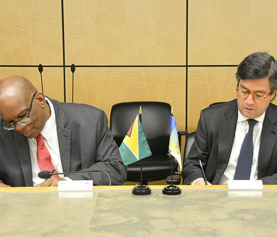 Guyana, IDB ink US$40M loan agreements  -to boost work of Gov't ministries