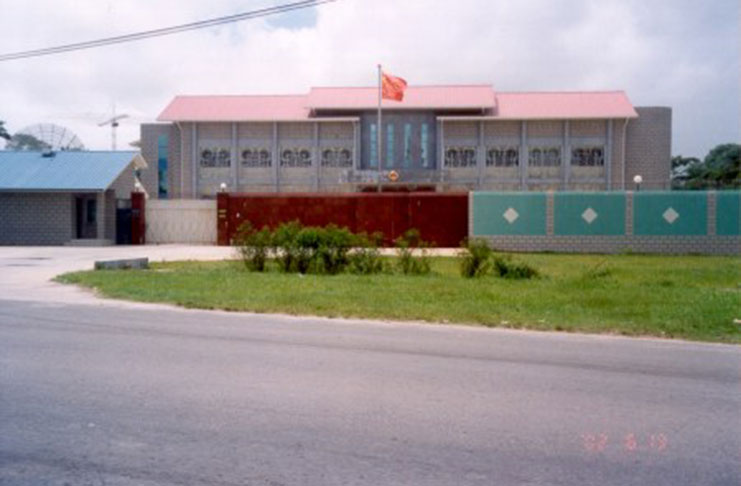 Chinese embassy threatens to sue kn guyana chronicle for Consul container