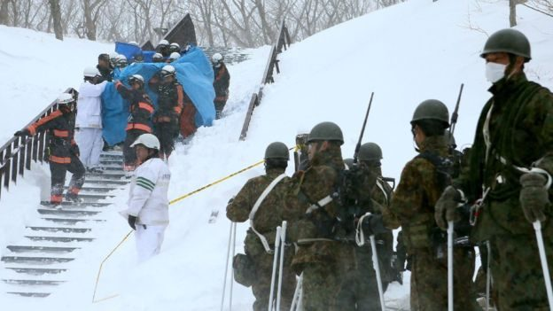 School children killed in Japanese avalanche