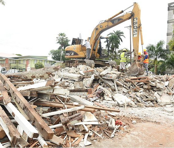 Ramphal House demolished, new Foreign Service Institute to be built
