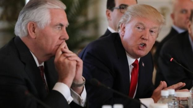 Trump fires Rex Tillerson as Secretary of State