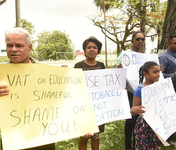 Suspend it without further delay  — protestors urge action against VAT on private education tuition