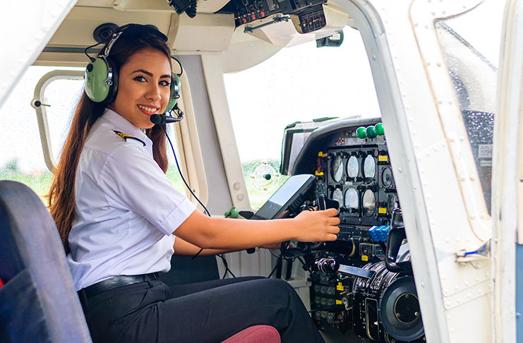 From flight attendant to commercial pilot - Guyana Chronicle