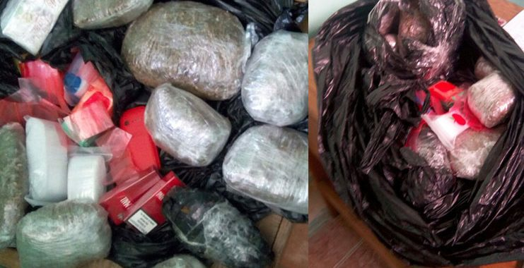 'Ganja', other items intercepted at NA Prison