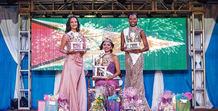 Cynthia Dookie does Guyana proud