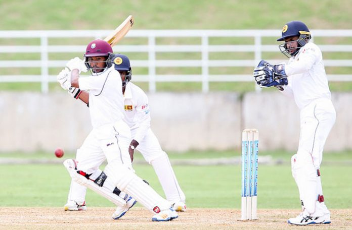 Ambris, Singh hit half-centuries as Windies A reach 236-4 on day one