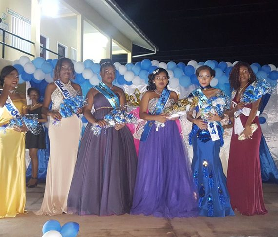 Sheena Campbell is Charity Secondary School Queen