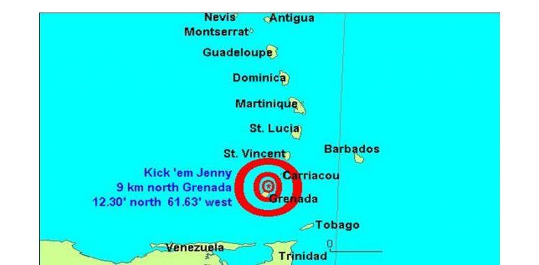 Alert level rises for Kick em Jenny volcano