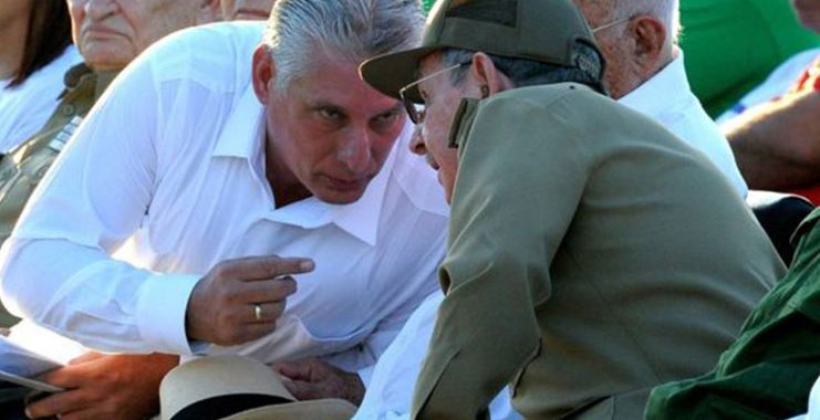 Miguel Díaz-Canel  nominated to replace Castro