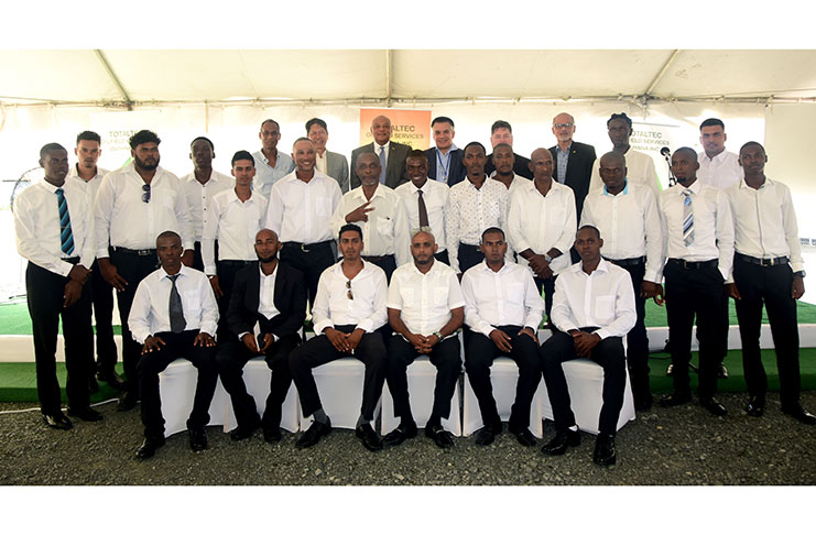 Totaltec readies 22 for oil-and-gas jobs - Guyana Chronicle