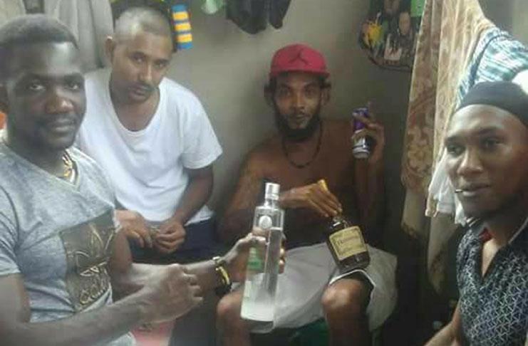Samuels Breaks Up Rum Drinking Prison Gang Guyana Chronicle