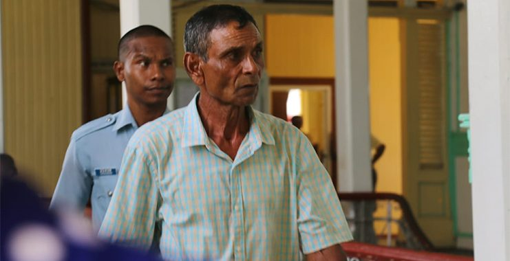 Senior citizen found guilty of raping child, 10