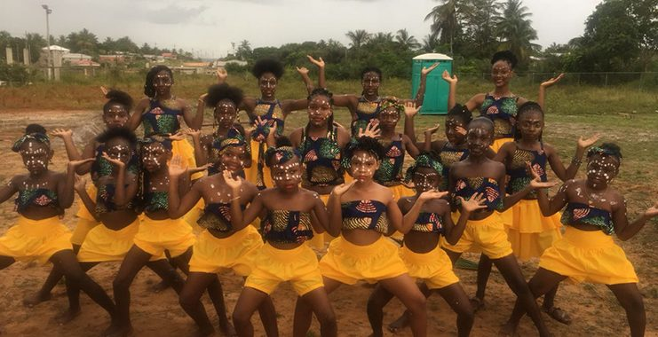 EPIC Dynamic Dance group grooming girls in the art of dancing
