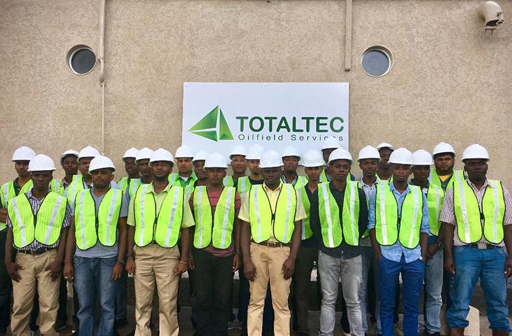 Schlumberger employs TOTALTEC Academy graduates - Guyana