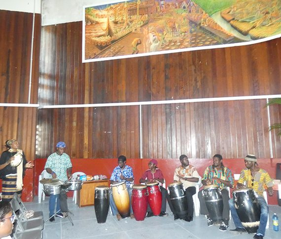 Hebrew Family youth bringing back the culture of drumming