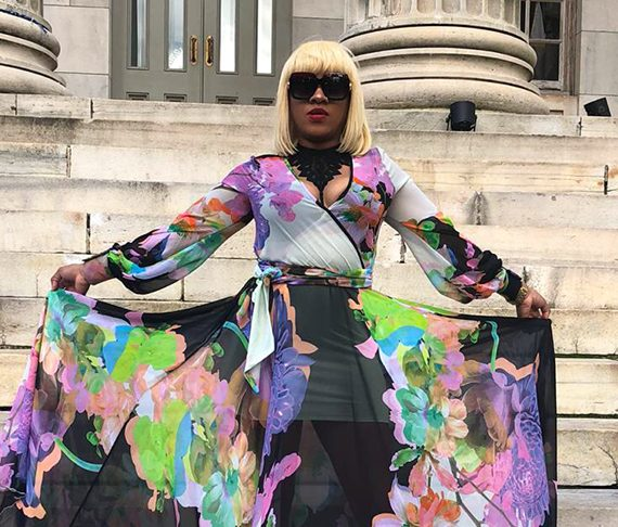 Local MUA takes MakeupByTrisee to 'Brooklyn Fashion Week'