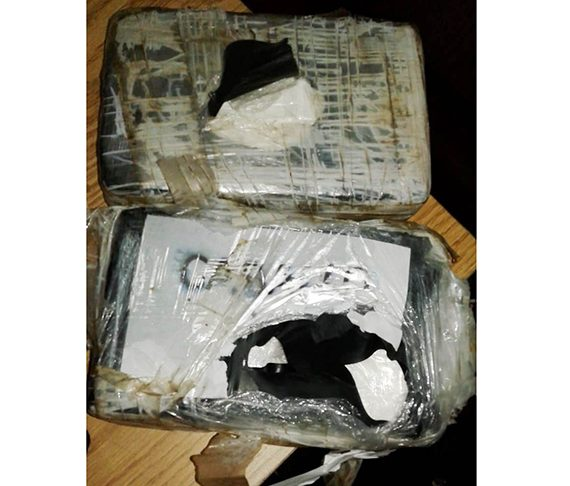 Police bust Pomeroon man with 'coke'