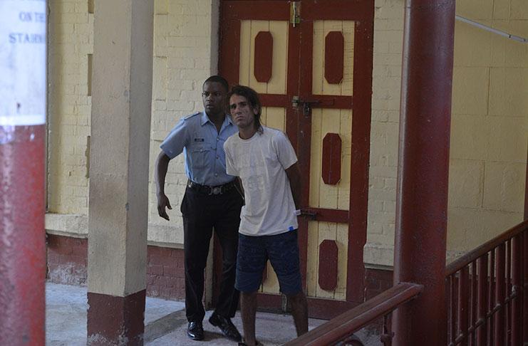 12e4fc8cb32c0 Cuban fined and placed in custody - Guyana Chronicle