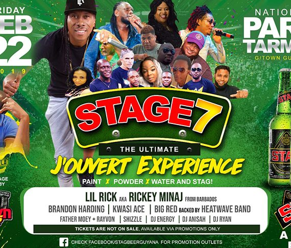 'STAGE', the best Jouvert event is set for tonight