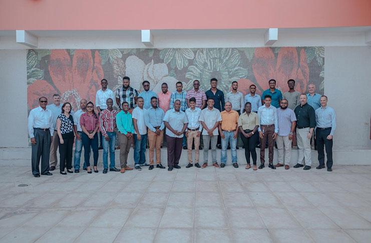 Twenty-four Guyanese technicians join ExxonMobil Guyana Team