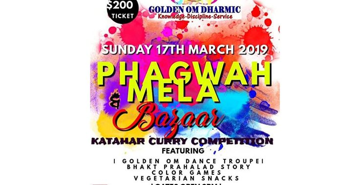 Katahar Curry Competition, Phagwah Mela set for March 17