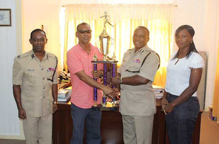 Trophy Stall donates trophies, medals for GPF mini-athletics