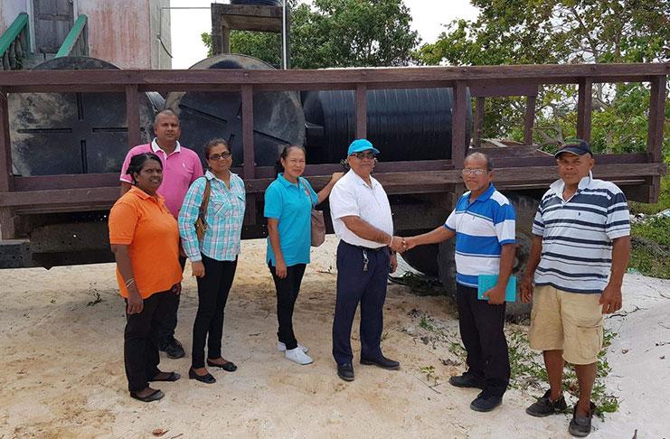 13b2c84161872 Potable water for Capoey residents - Guyana Chronicle