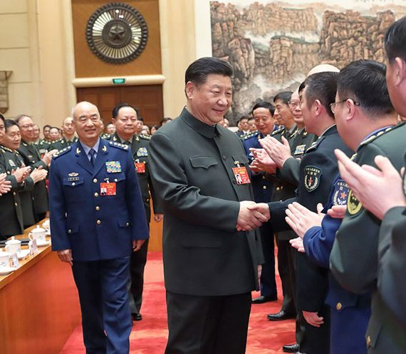 Xi urges military to meet goals