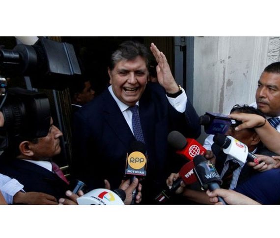 Former Peruvian President, Alan Garcia shoots himself as police arrest him