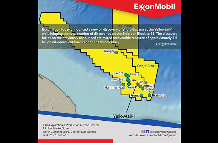 Exxon in 13th strike offshore Guyana - Guyana Chronicle