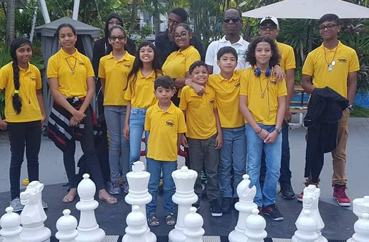 Guyana off to solid start at CARIFTA Junior Chess Championship