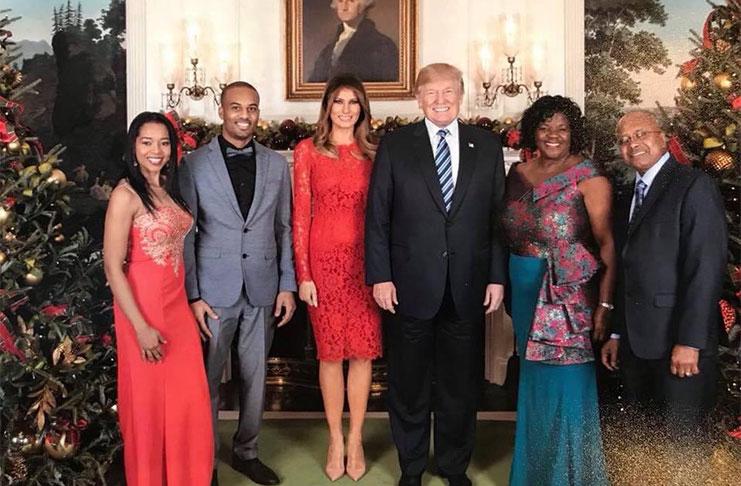 White House Christmas 2019.Guyana Born Chef Creating Stir In White House Guyana Chronicle
