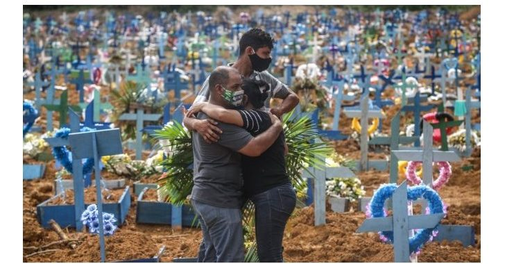 Brazil's daily COVID-19 death toll hits 1,000 for first time