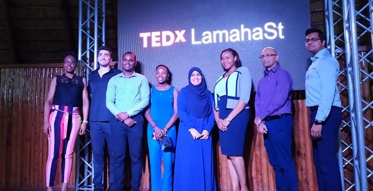 Local Poet unleashes her magic at Guyana's TEDx Talks