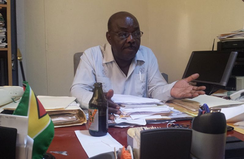 Guyana Labour Union General Secretary, Carvil Duncan